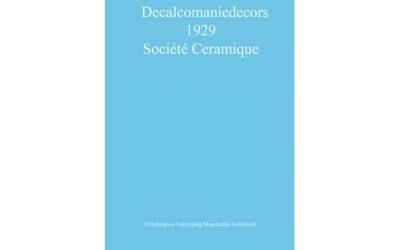 Decalcomaniedecors 1929 Sociéte Ceramique