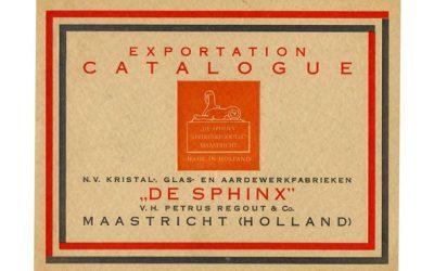 Kleurenkopie van de exportcatalogus uit 1928 17 pagina's. A4 losbladig