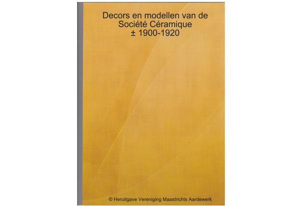 decors en modellen Soc Cer 1900-1920