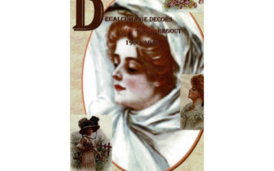 Decalcomanie decors van P.Regout 1900-1940